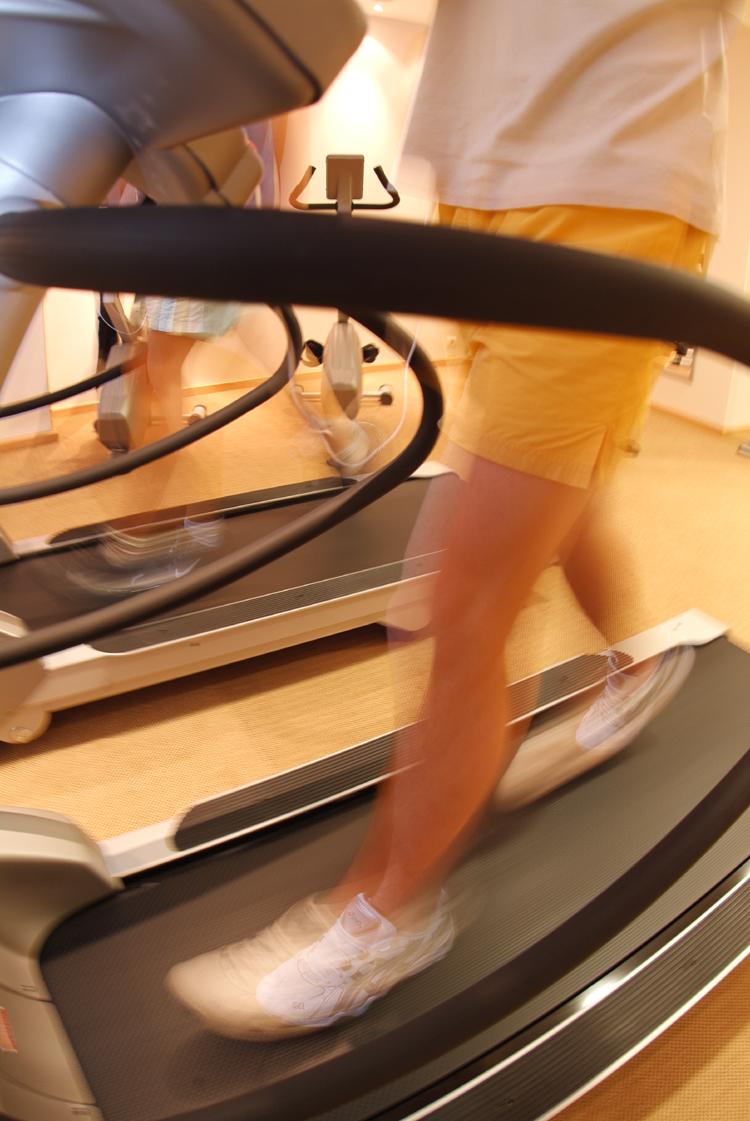Motiverende træning Gå på løbebånd
