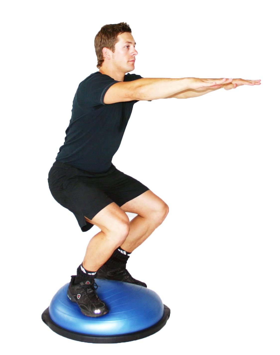 BOth Sides Up træning benbøjning