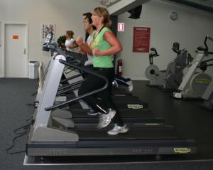 Høj-intensiv interval træning løb løbebånd HIIT