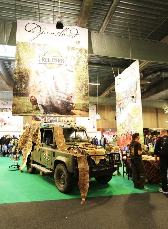 Ree Park Range Rover Defender på Ferie for Alle 2014 foto Marina Aagaard