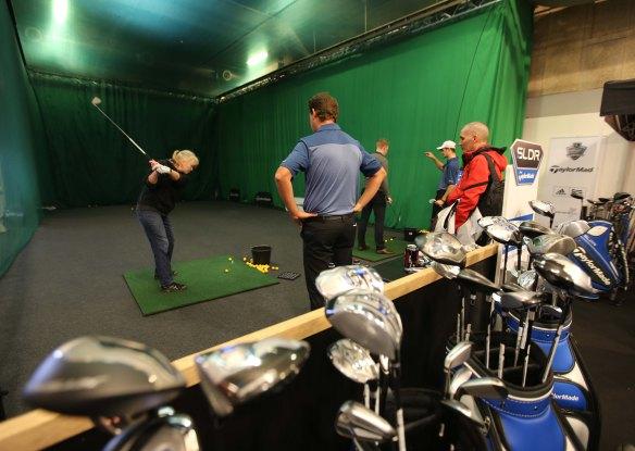 Dansk Golfshow Golf med PGA pro på Ferie for Alle foto Marina Aagaard