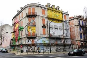 Lisboa mural graffiti II