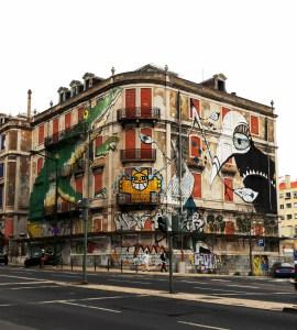 Lisboa mural graffiti III