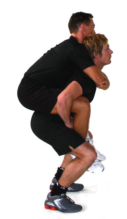 Air squat eller squat Marina Aagaard blog fitnesss Foto Muskeltræning