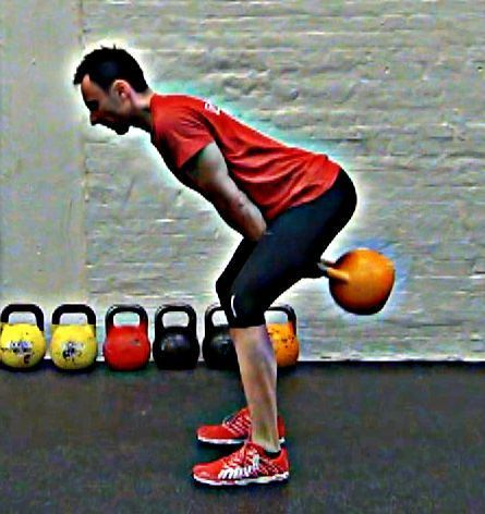 Kettlebell swing teknik Thierry Sanchez