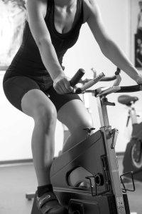 slidte knæ træning spinning