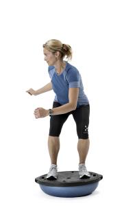 BOSU balancetræning og stabilitetstræning foto Claus Petersen Ski Fitness