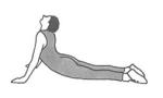 Yoga øvelse Risk exercise Cobra Marina Aagaard fitness blog