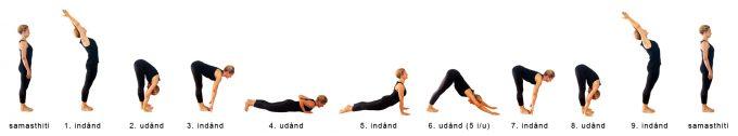 Solhilsen A Yoga opvarmning Marina Aagaard fitness blog