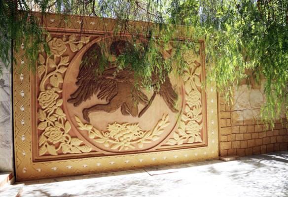 Tunesien_Gafsa_Hotel_Jughurta_Palace_havemur