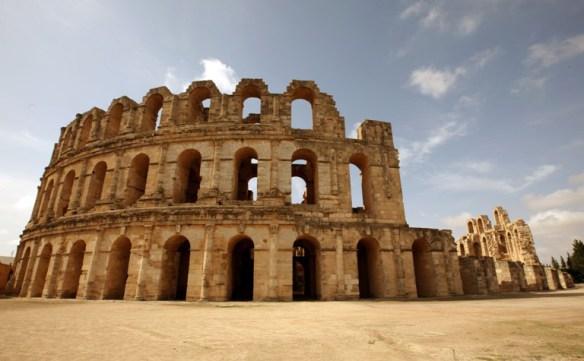 Tunesien_El_Djem_back