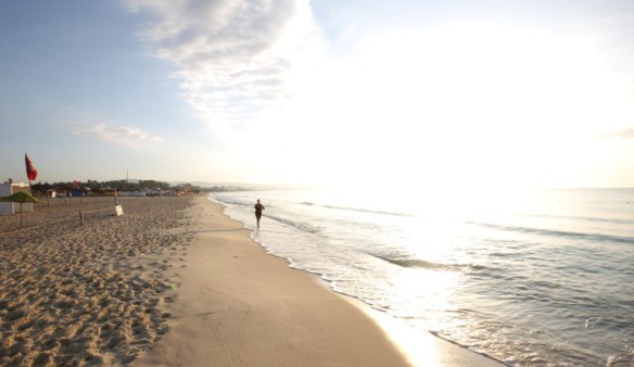 Tunesien_Hammamet_strand_morgen_loeb