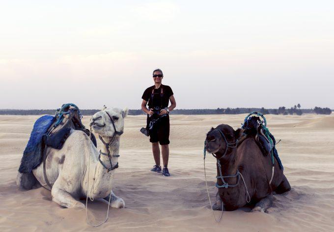 Sahara Tunesia camel Marina Aagaard blog travel photo