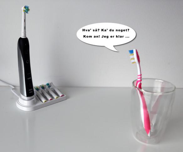 Eltandbørste kontra manuel tandbørste Marina Aagaard fitness blog