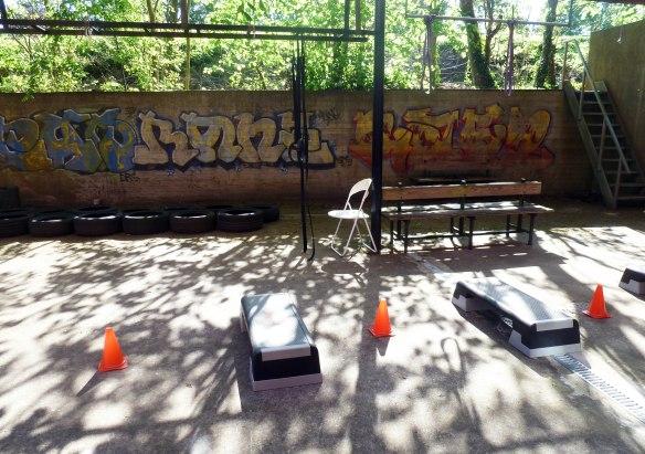 Circuit Training Outdoor track Marina Aagaard fitness blog