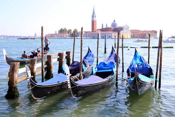 Venedig gondoler foto Marina Aagaard fitness blog