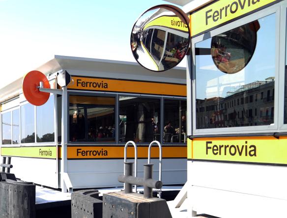Venedig Ferrovia spejle Vandbus station foto Marina Aagaard blog