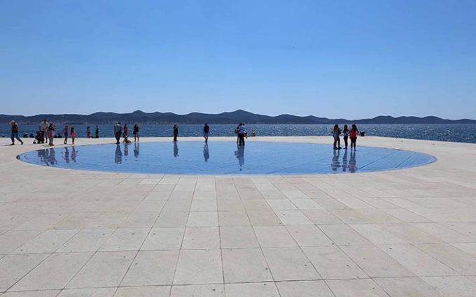 Zadar Croatia Solar System model Marina Aagaard blog travel photo