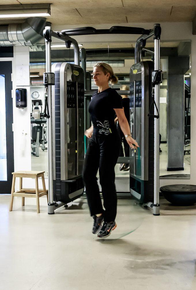 Hvad forbrænder man på 7 minutter Marina Aagaard blog fitness