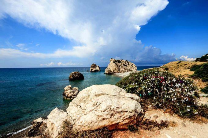 At leve og at rejse Aphrodites rock Cyprus Marina Aagaard blog travel