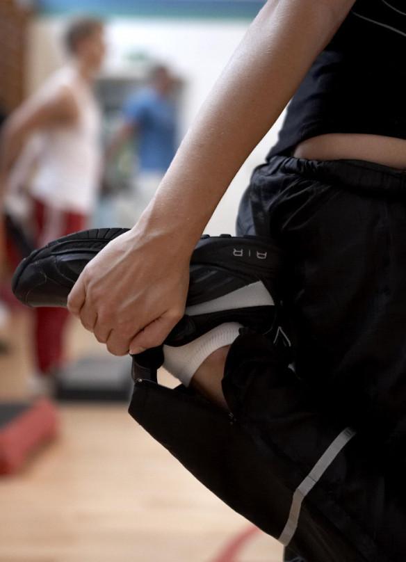 Er strækøvelser kun for fornøjelsen Aalborg Sportshøjskole