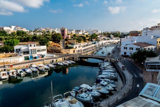 Menorca Ciutadella port Marina Aagaard fitness blog