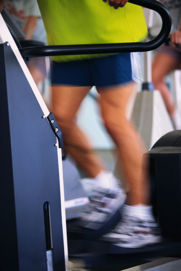Træning usundt Machine clipart