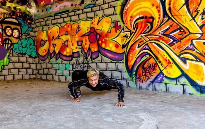Variation af træning reptile crawl Marina Aagaard blog fitness blog