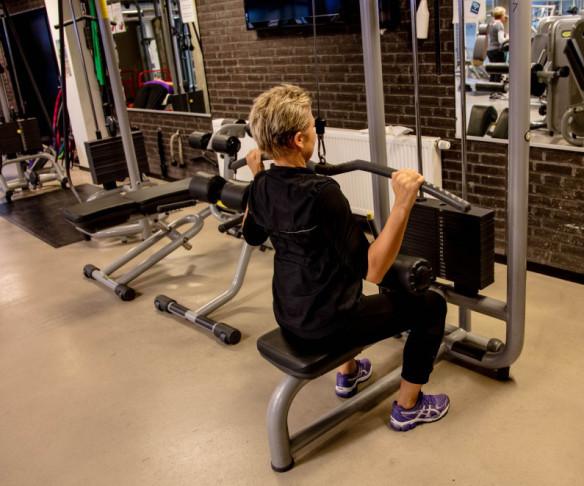 Styrketræning ryg lat pulldown Marina Aagaard blog fitness