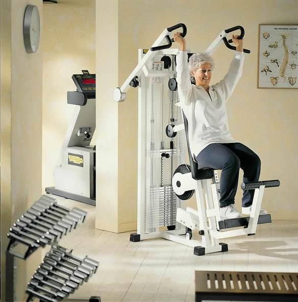 Senior Fitness styrketræening Technogym