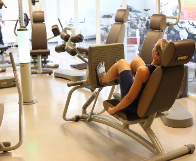 De 5 øvelser styrketræning Benpres Leg Press Technogym Easy Line Marina Aagaard blog fitness