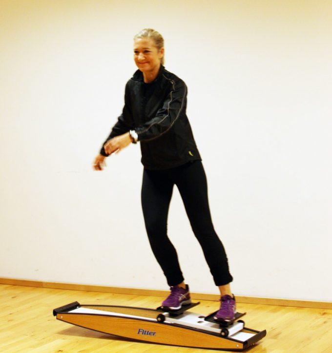Glid side til side Fitter Marina Aagaard blog Ski Fitness