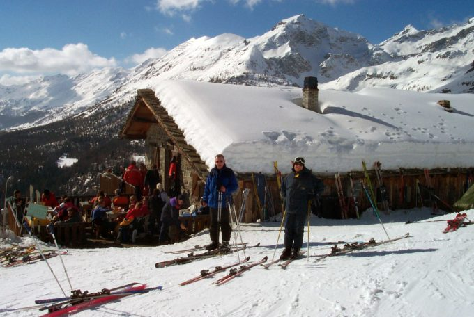 Gressoney Italien ski Marina Aagaard blog travel