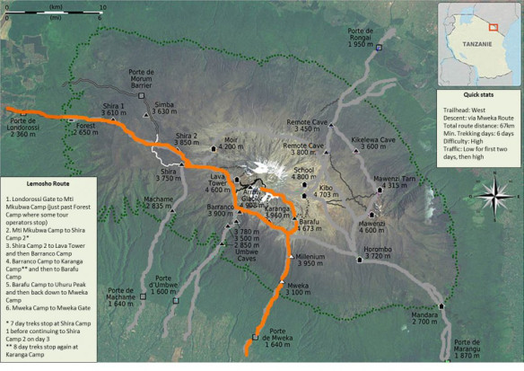 19-Lemosho-Route-Map-1000x708_ClimbKilimanjaroGuide