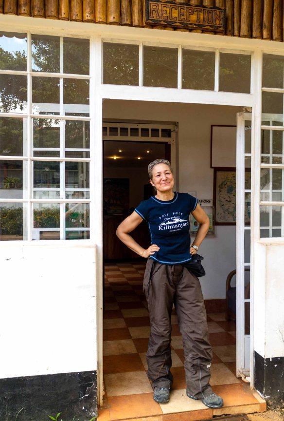 Sidste dag i Marangu Hotel Marina Aagaard blog travel rejse