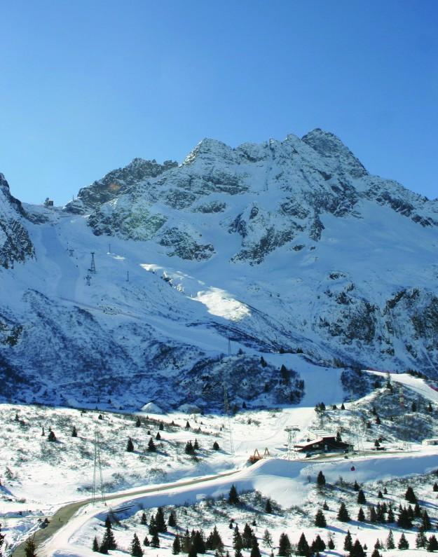 Passo Tonale Italien Ski Bjerge Marina Aagaard blog travel rejse