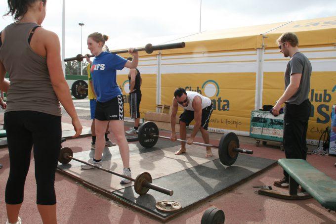 Sæt styrketræning serier træningseffekt styrke Traenerakademiet_La_Santa_Kim_Lynge