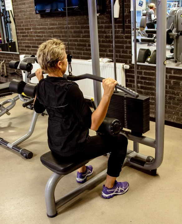 Repetitioner styrketræning fitness Lat pulldown