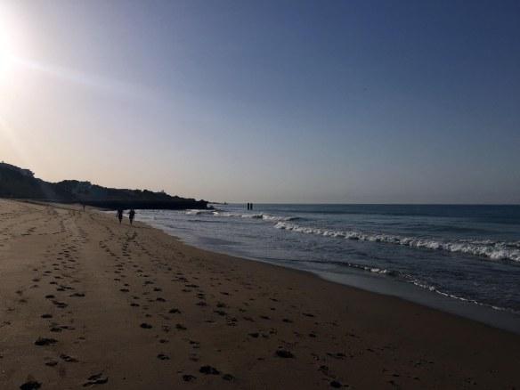 Albufeira strand Algarve Portugal Marina Aagaard blog travel rejse foto