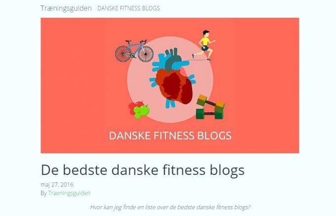 Bedste danske blogs om fitness