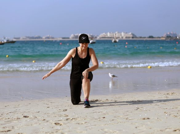 Getbackup opvarmning warmup Dubai Marina Aagaard blog fitness