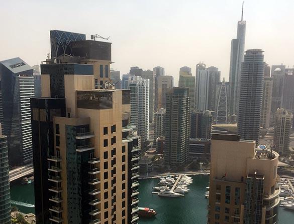 Dubai Marina View Marina Aagaard blog_travel