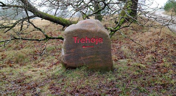 Djursland i tåge Trehøje sten Marina Aagaard blog travel rejse foto