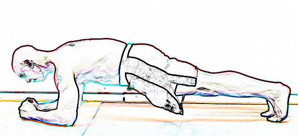 Hollow plank RKC planke