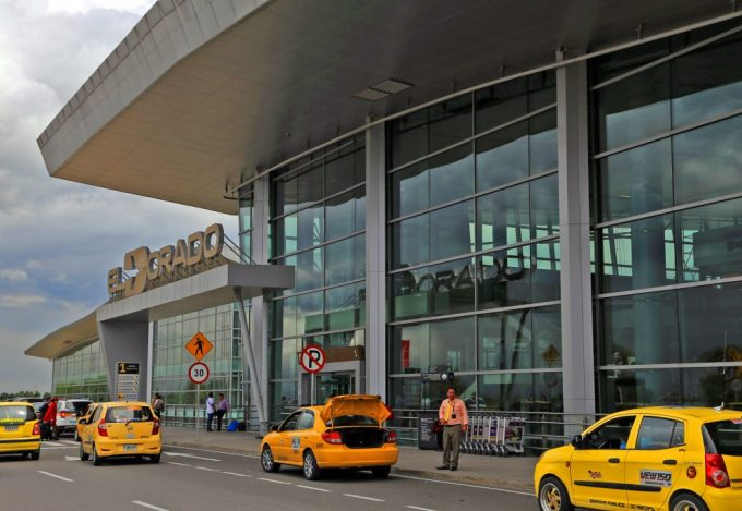 Bogota El Dorado Airport Marina Aagaard blog travel