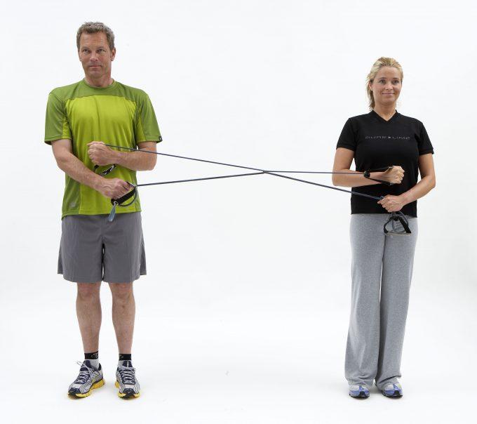 Skulder indadrotation og udadrotation Marina Aagaard Fitness CPhotography