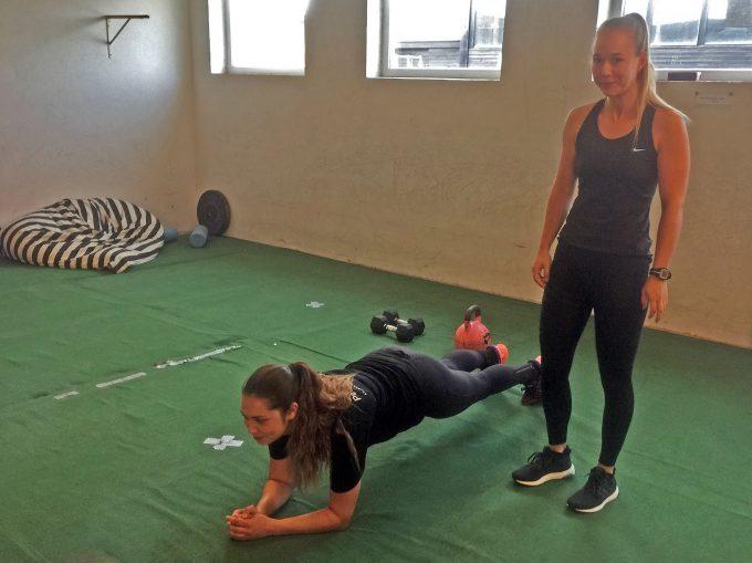 Træn som på Discovery Channel SPH Marina Aagaard blog fitness