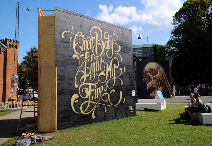 Aarhus Streetart Festival 2017 Marina Aagaard blog travel