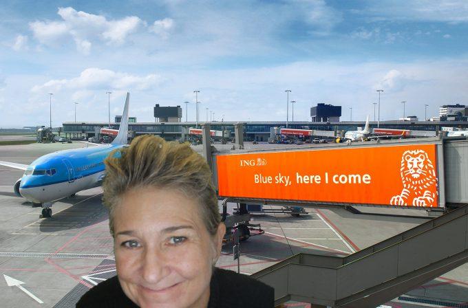 Schiphol Selfie Marina Aagaard blog travel rejse foto