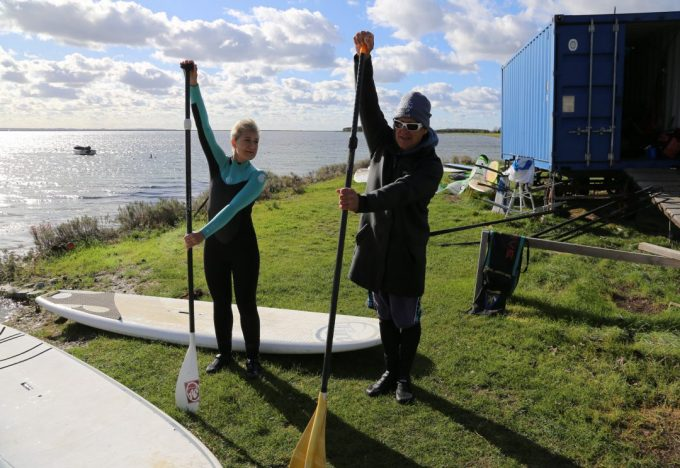 SUP Stand Up Paddleboarding Marina Aagaard blog fitness